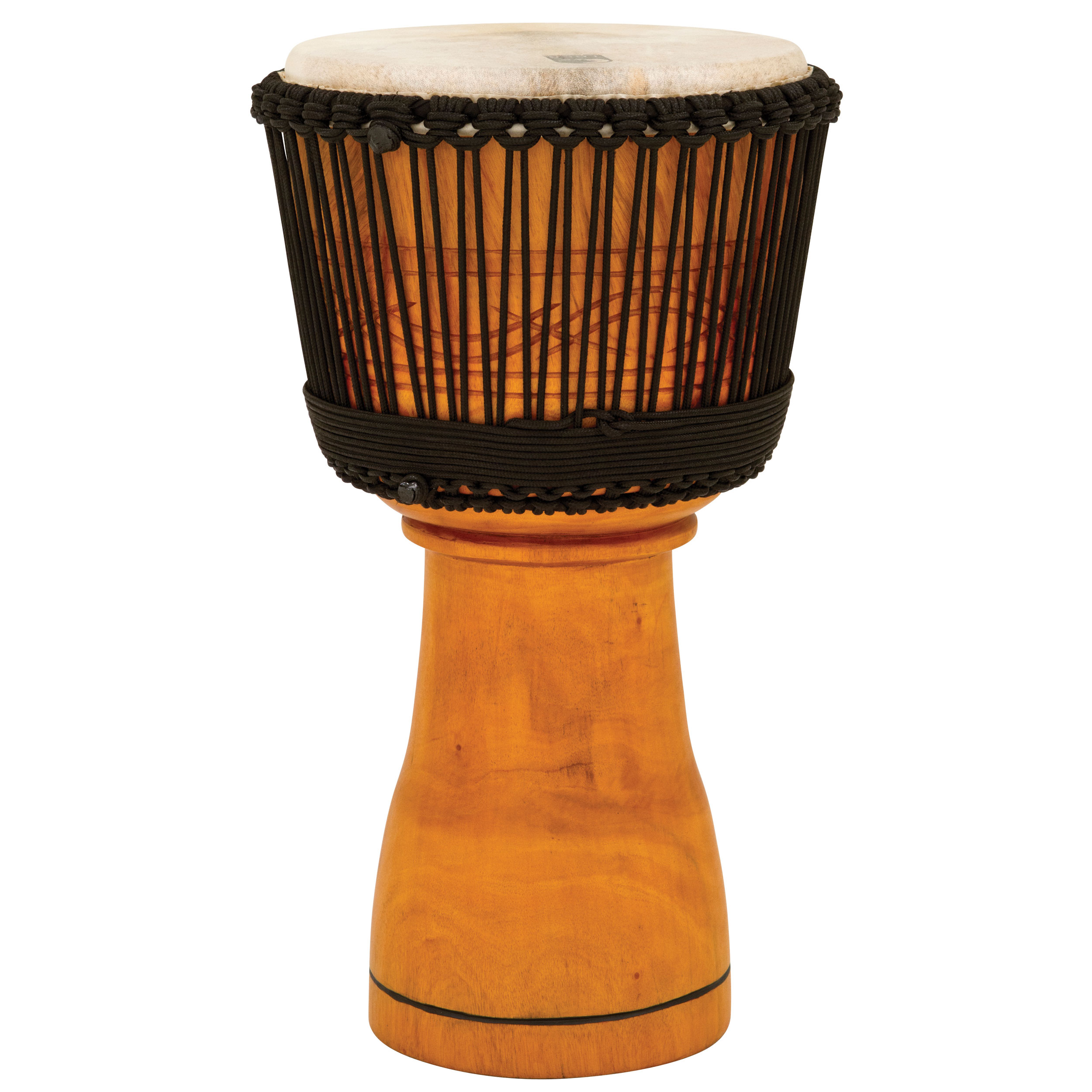 "Toca 12"" Master Series Rope-Tuned Wood Djembe"