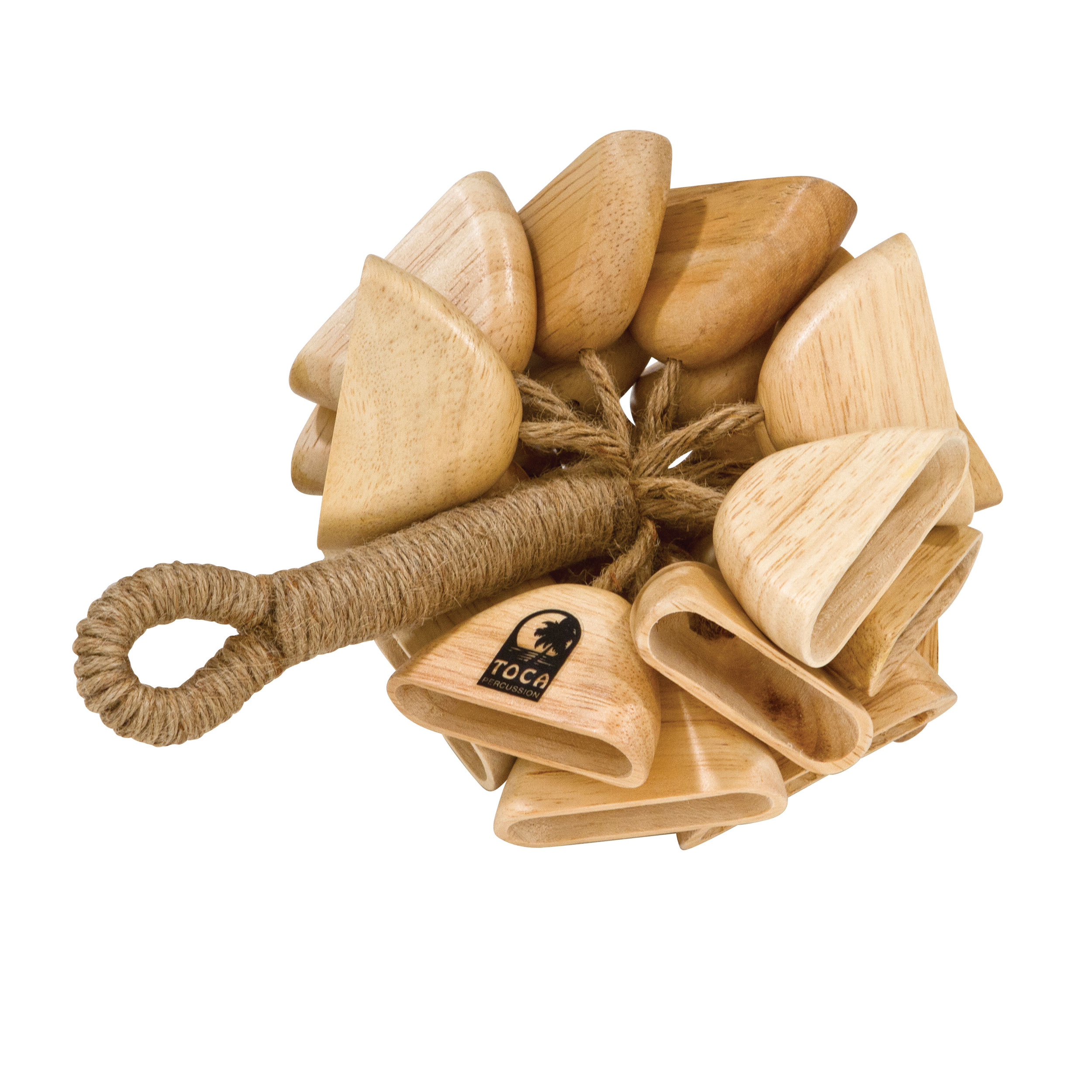 Toca Wooden Rattle with Handle