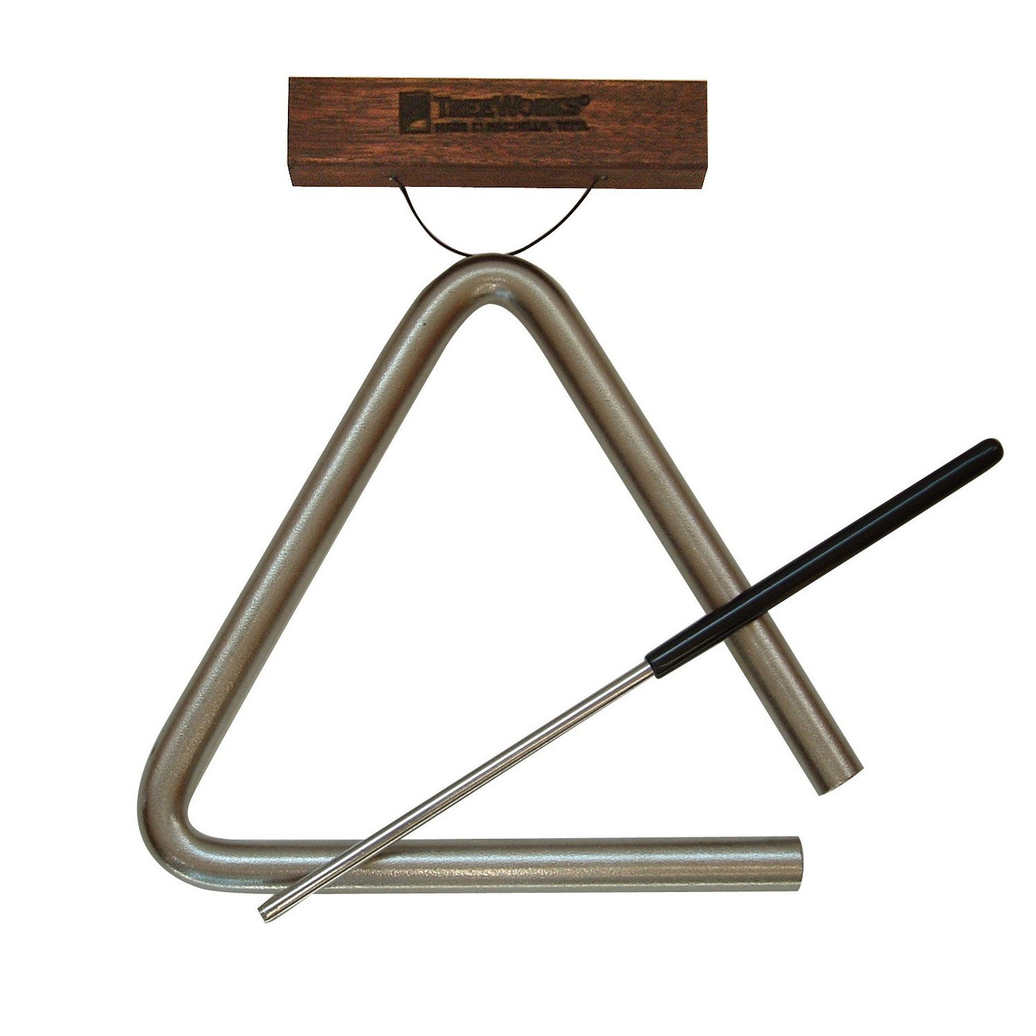 "TreeWorks 10"" Triangle with Beater & Holder"