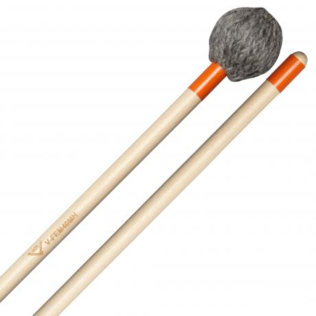 Vater Concert Ensemble Hard Marimba Mallets (Oval Shape)