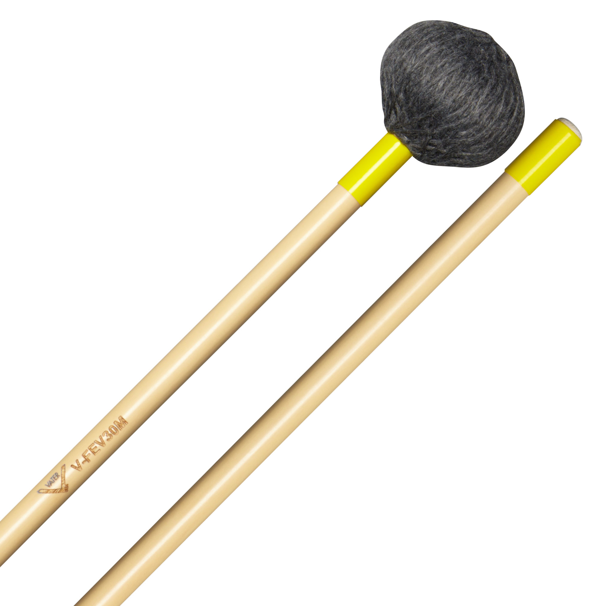 Vater Front Ensemble Medium Vibraphone Mallets (Oval Shape)
