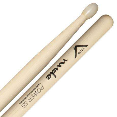 Vater Nude Series Power 5B Nylon Tip Drumsticks