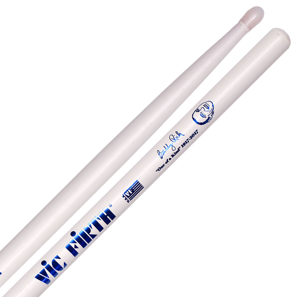 Vic Firth Limited Edition Buddy Rich Signature 100th Birthday Nylon Tip Drumsticks