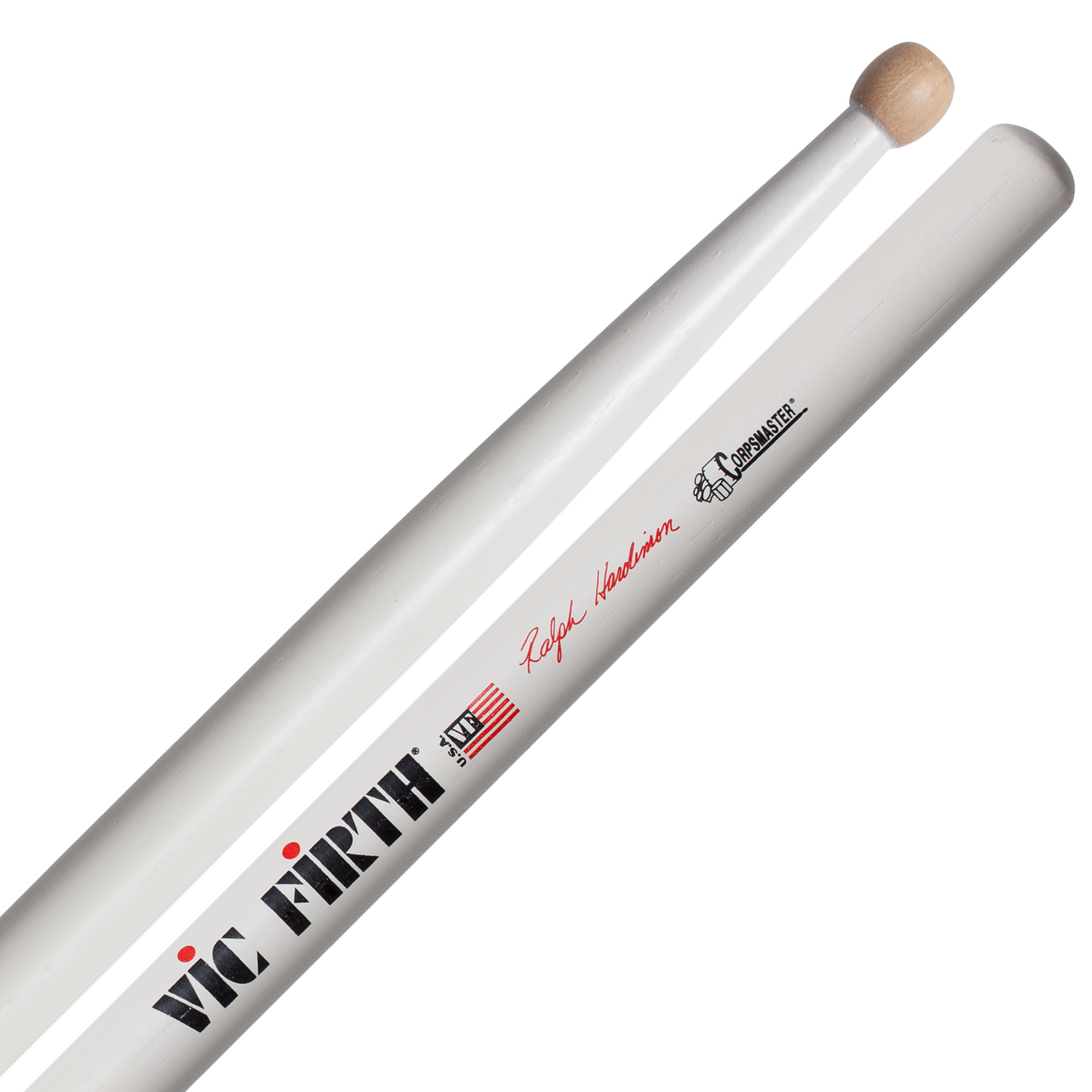 Vic Firth SRH Ralph Hardimon Corpsmaster Signature Marching Snare Sticks