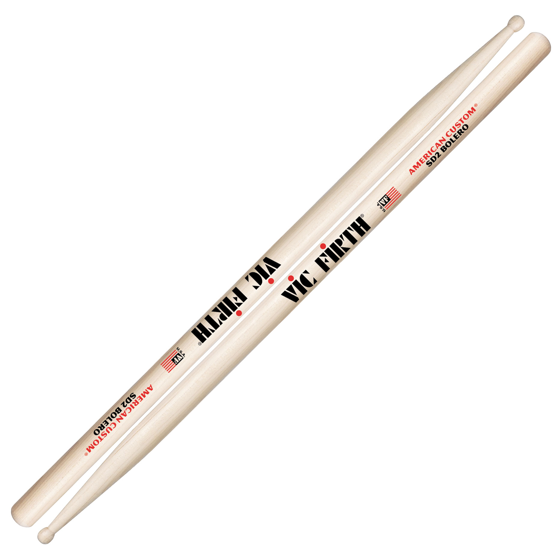 vic firth american custom sd2 bolero concert snare sticks sd2. Black Bedroom Furniture Sets. Home Design Ideas