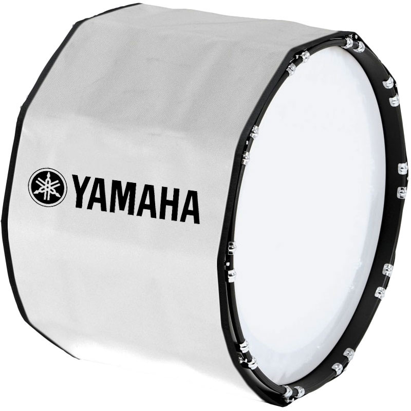"Yamaha 14"" Custom Color Marching Bass Cover"