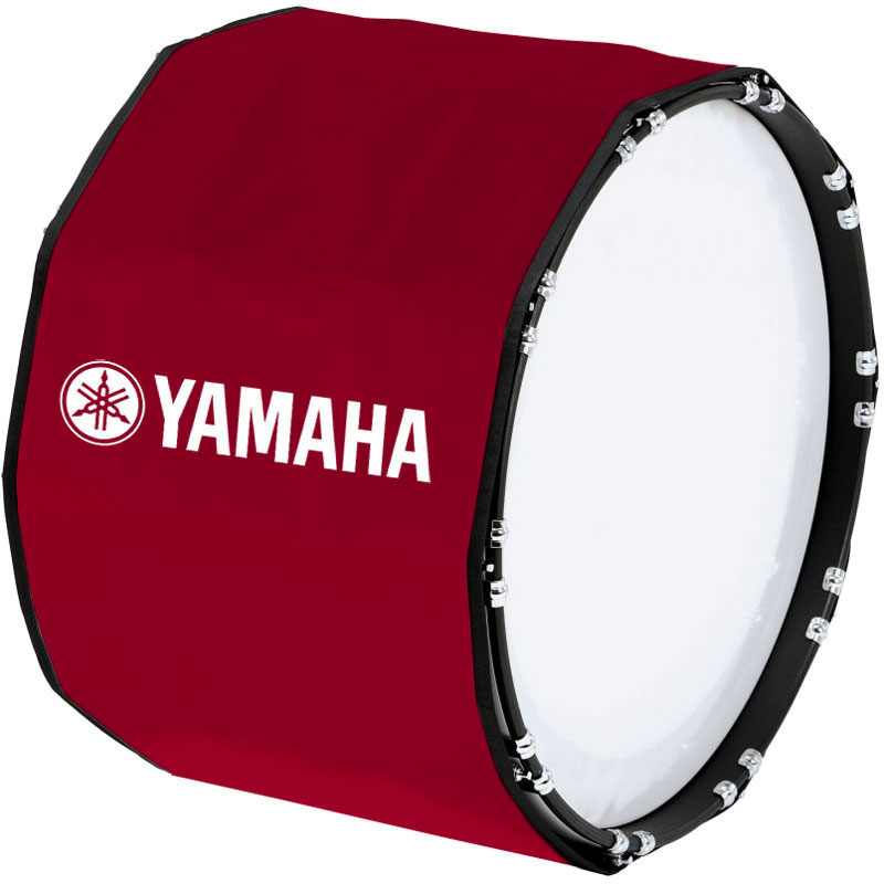 "Yamaha 28"" Custom Color Marching Bass Cover"