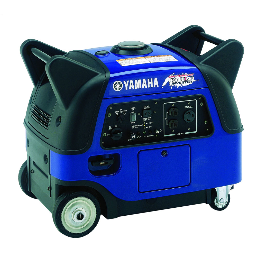 yamaha 3000 watt inverter generator with boost technology