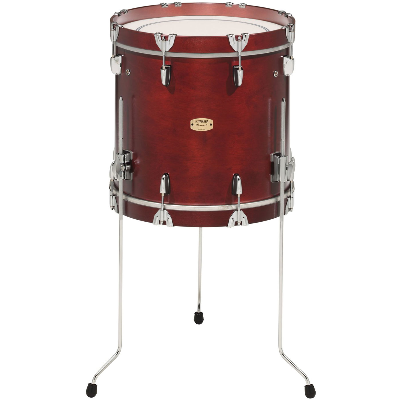 "Yamaha 24"" x 16"" 9000 Series Impact Drum in Darkwood Stain"