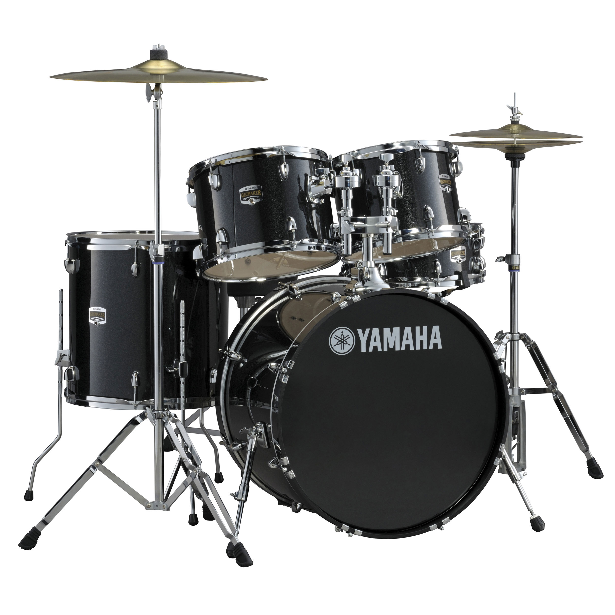 "Yamaha GigMaker 5-Piece Drum Set with Hardware (22"" Bass, 12/13/16"" Toms, 14"" Snare)"