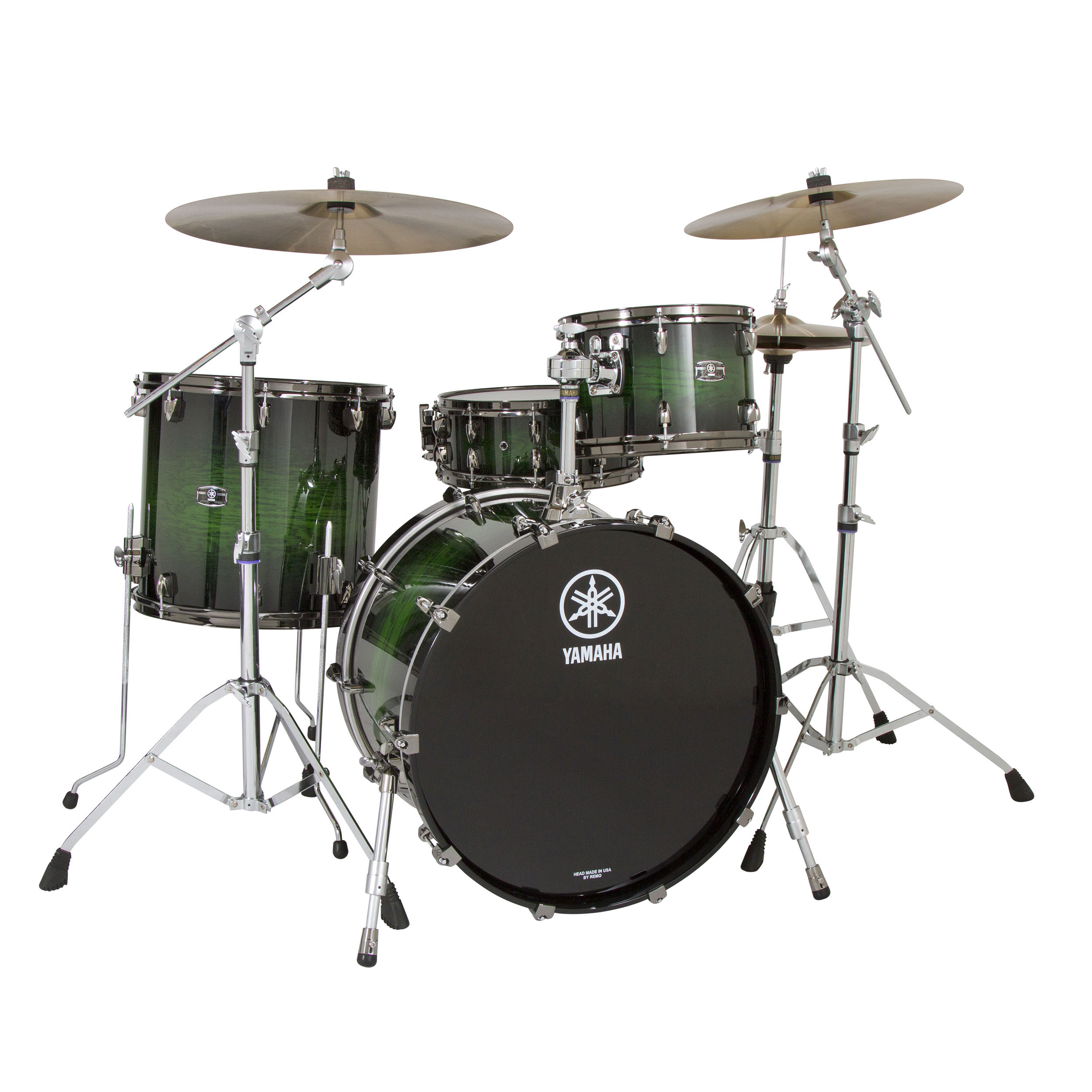 "Yamaha Live Custom 3-Piece Drum Set Shell Pack (22"" Bass, 12/16"" Toms)"
