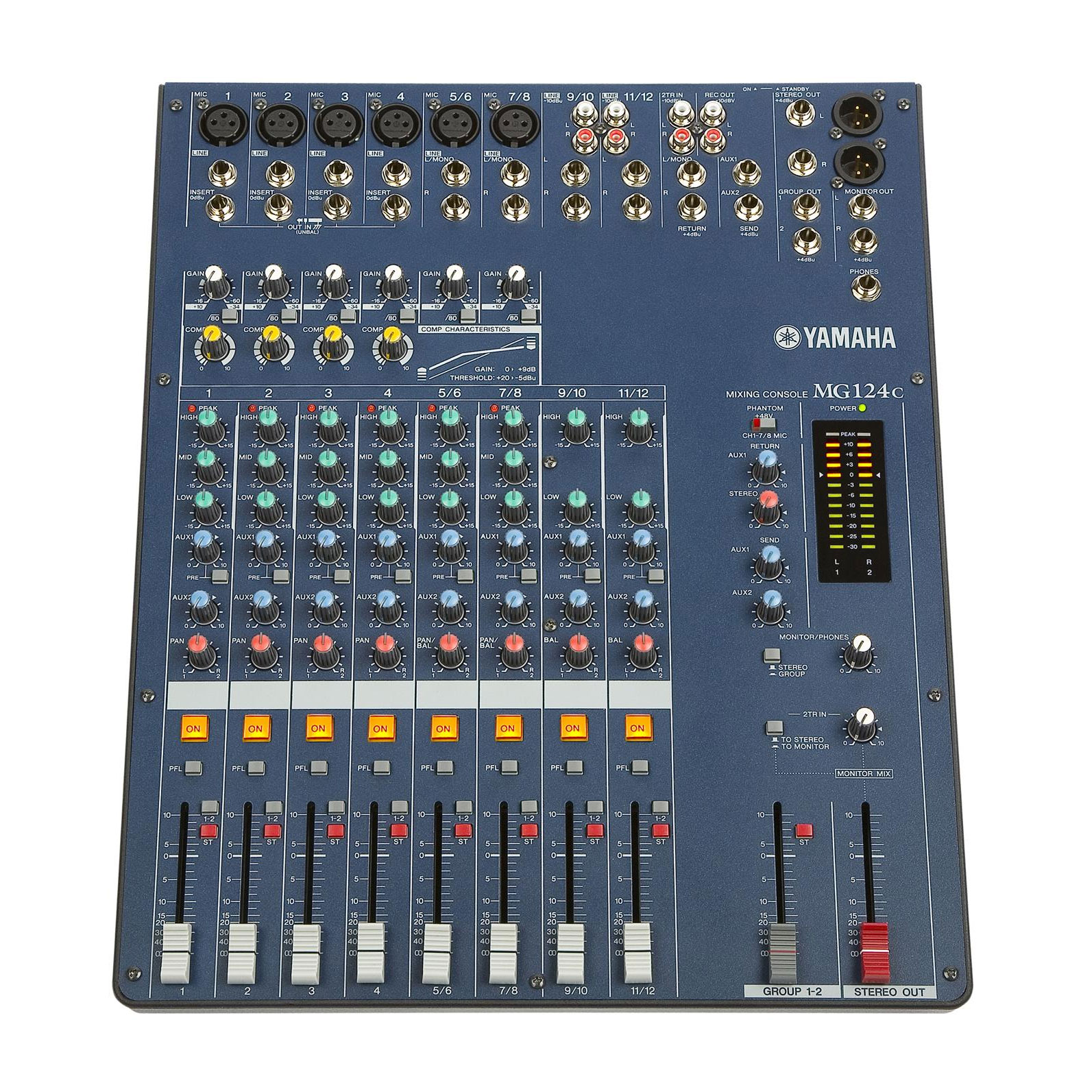Mixing boards consoles equalizers lone star percussion for Yamaha mixing boards