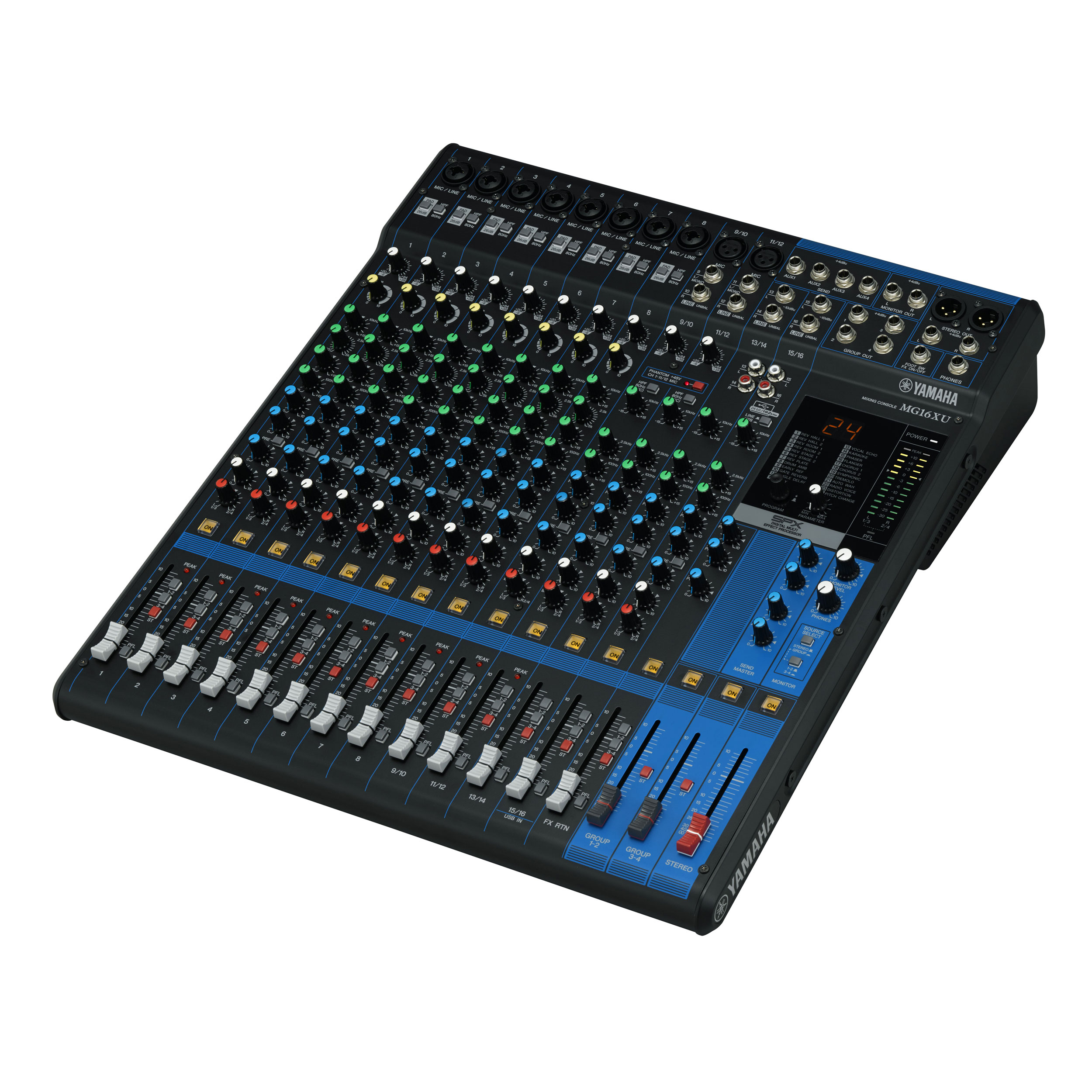 Yamaha 16-Channel Analog Mixing Console