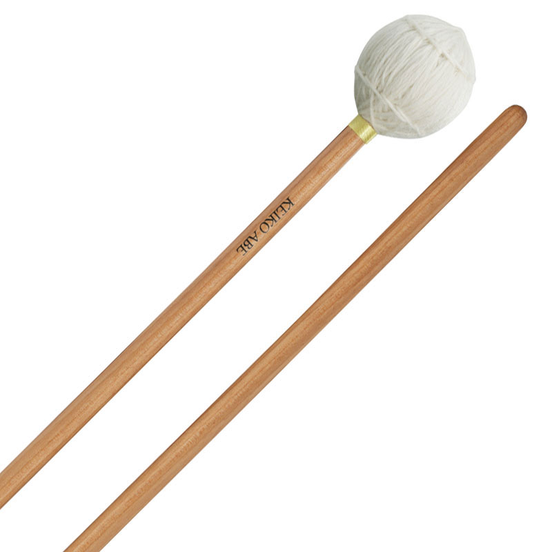 Yamaha Keiko Abe Signature Hard Marimba Mallets with Birch Handles