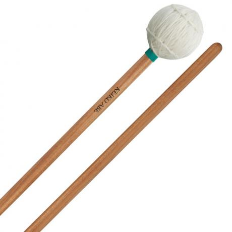 Yamaha Keiko Abe Signature Medium Soft Marimba Mallets with Birch Handles