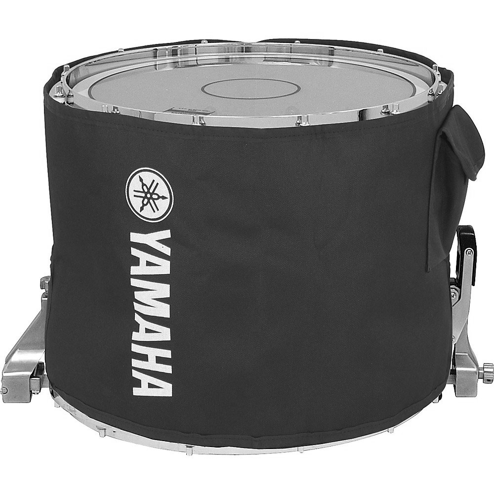 "Yamaha 14"" Standard Black Marching Snare Cover"