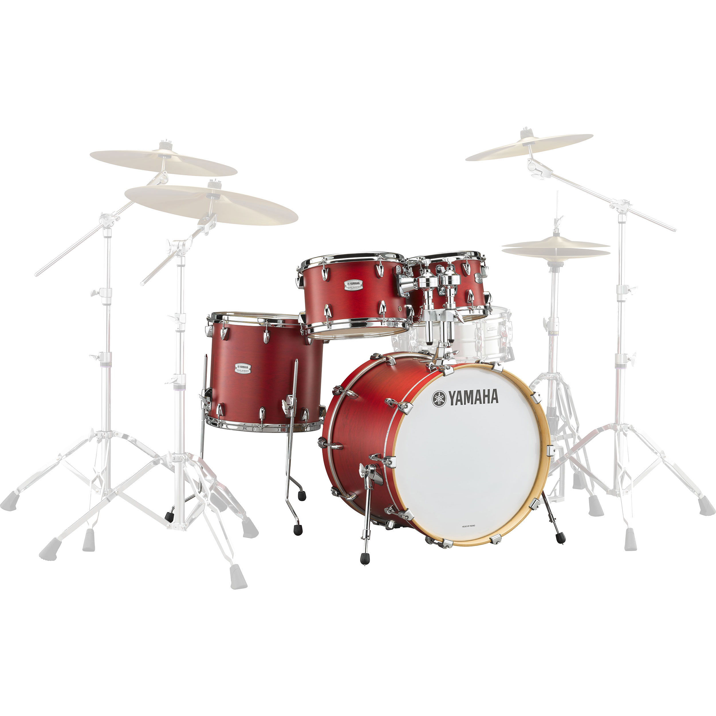 "Yamaha Tour Custom Maple 4-Piece Drum Set Shell Pack (20"" Bass, 10/12/14"" Toms)"