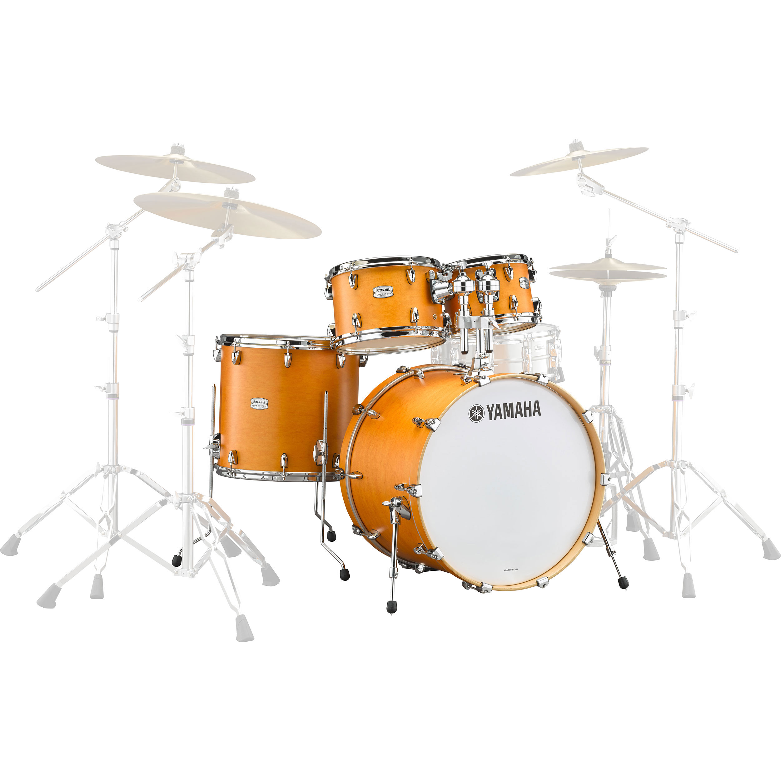 "Yamaha Tour Custom Maple 4-Piece Drum Set Shell Pack (22"" Bass, 10/12/16"" Toms)"