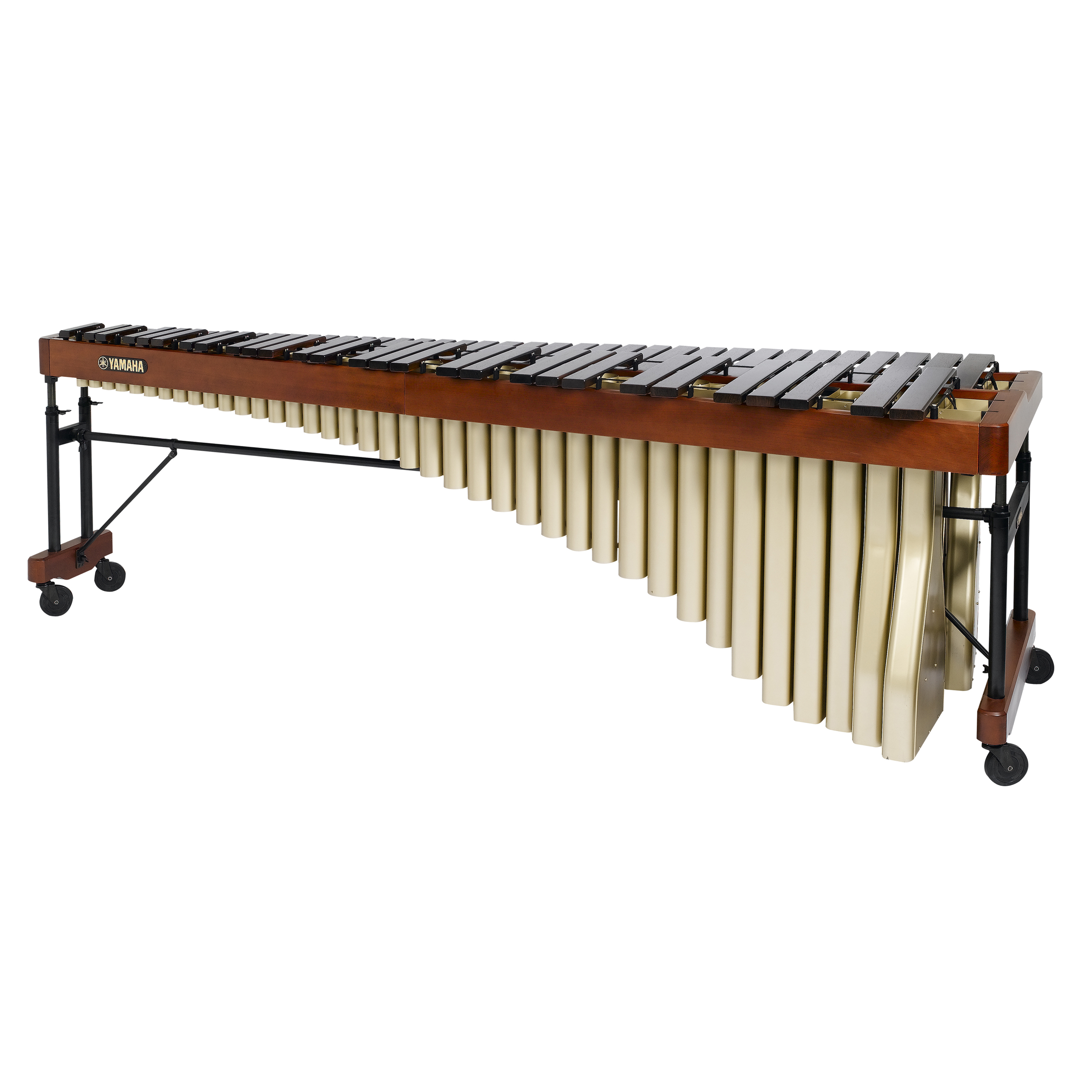 Yamaha 5.5 Rosewood Virtuoso Marimba with cover