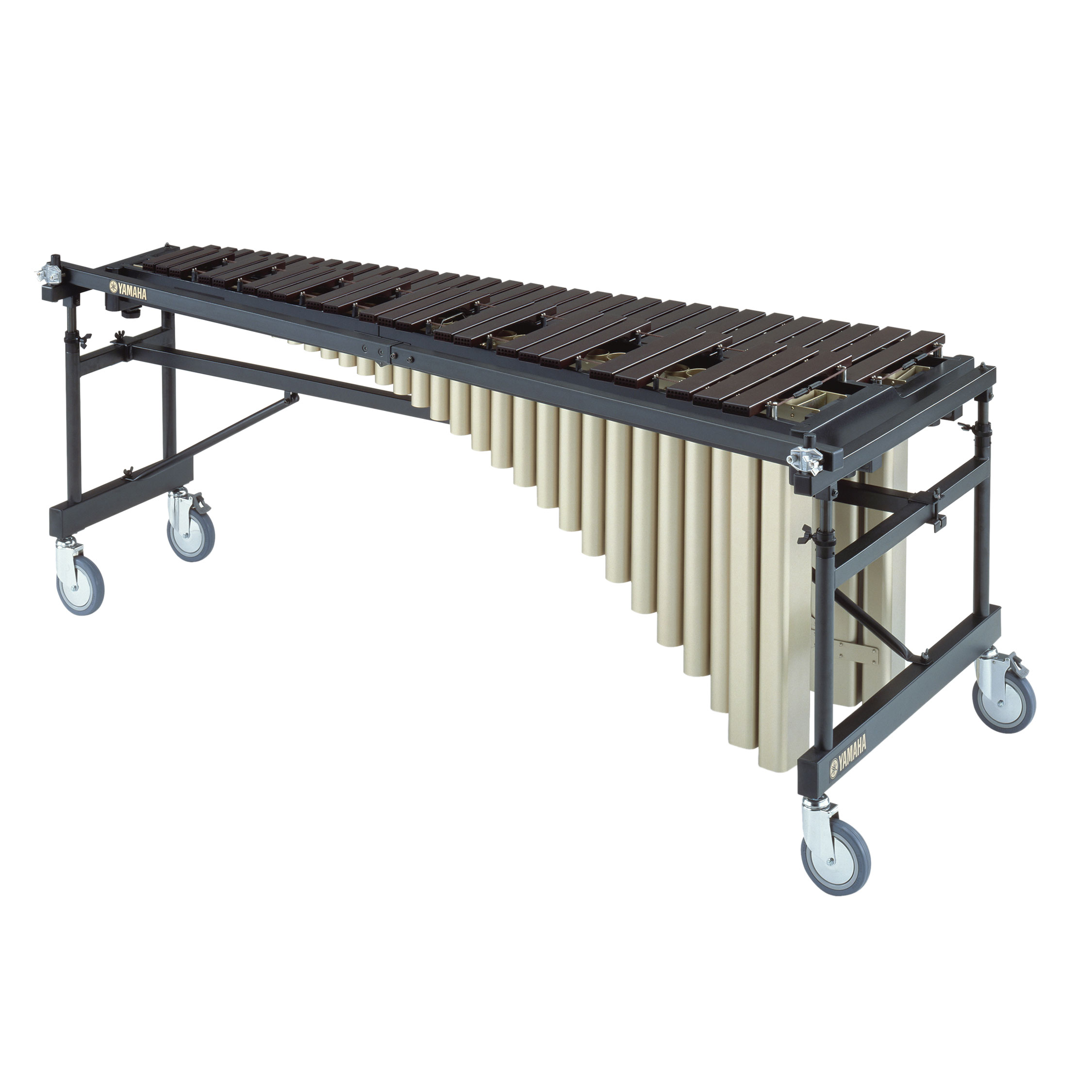 Yamaha 4.5 Octave Acoustalon Marimba with Multi Frame II and drop cover