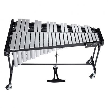 Yamaha 3 Octave Intermediate Silver Vibraphone with Cover and Soft Cases