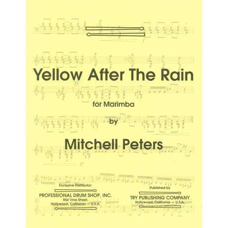 Yellow After the Rain by Mitchell Peters