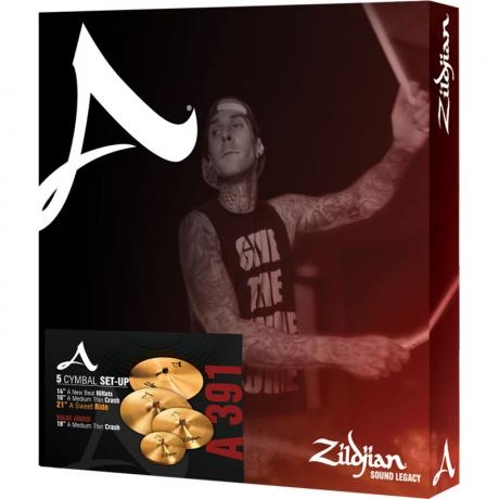 Zildjian A Zildjian 4-Piece Cymbal Box Set (Hi Hats, 2 Crashes, Ride)