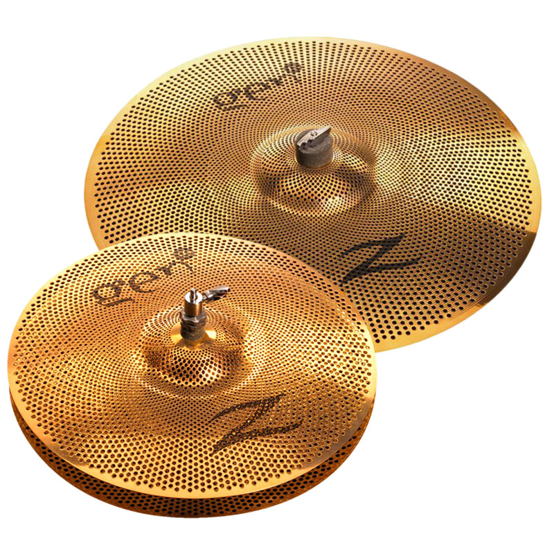 Zildjian Gen16 Buffed Bronze 2-Piece Cymbal Box Set (Hi Hats, Crash/Ride) with Electronics