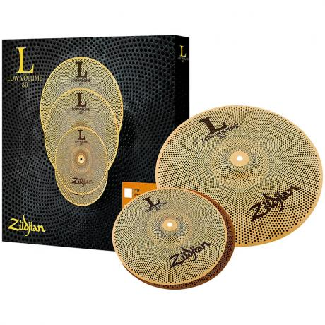 Zildjian L80 Low Volume 38 2-Piece Cymbal Box Set (13