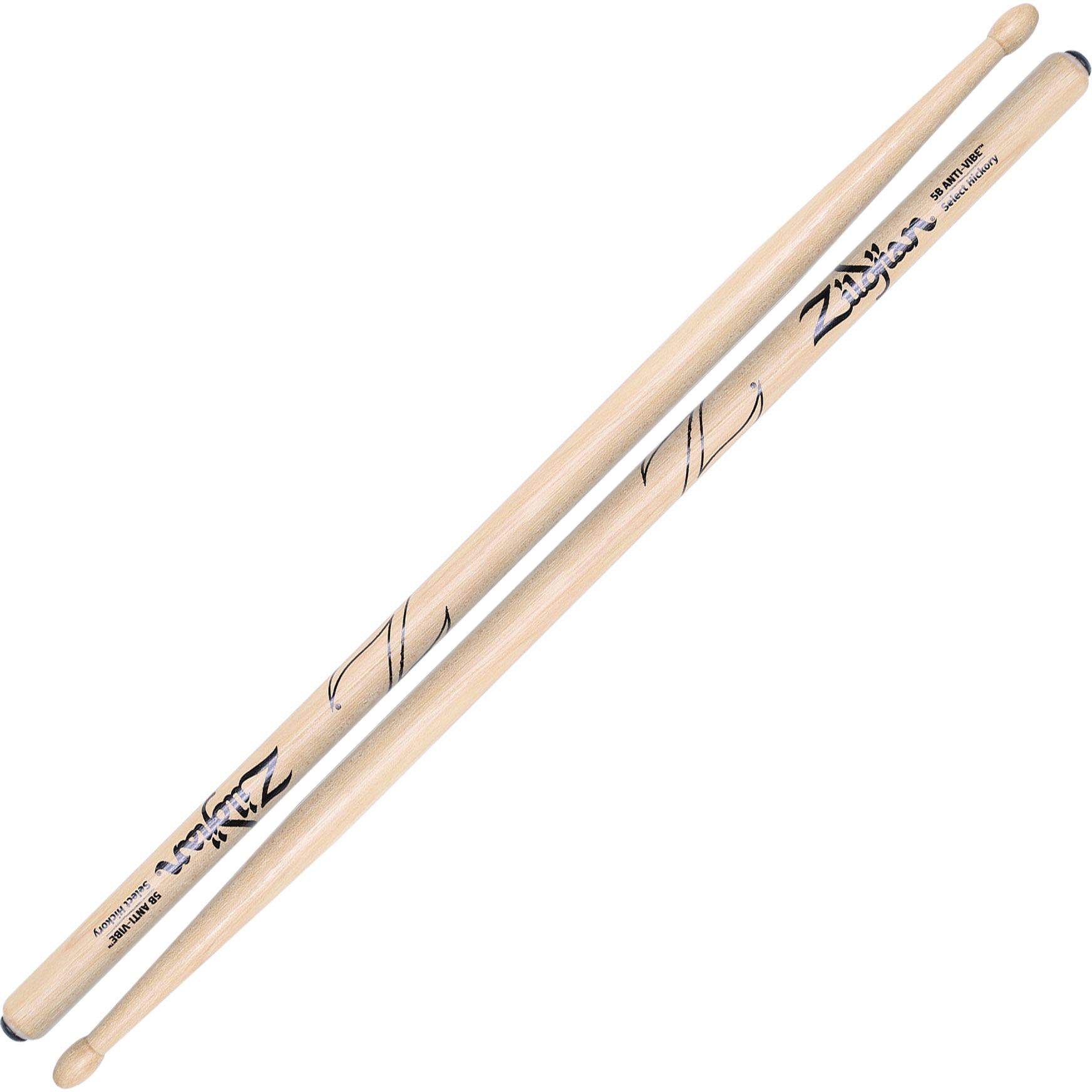 Zildjian Select Hickory Anti-Vibe 5B Drumsticks