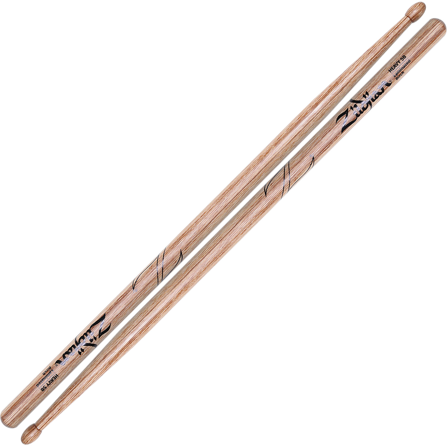 Zildjian Heavy 5B Laminated Birch Drumsticks
