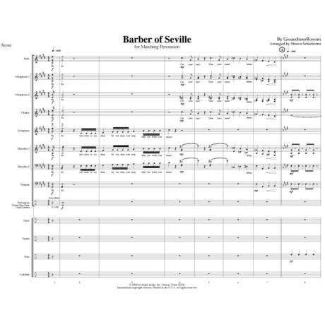 Barber of Seville by Rossini arr. Shawn Schietroma