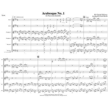 Arabesque No. 1 by Debussy arr. Hirsch