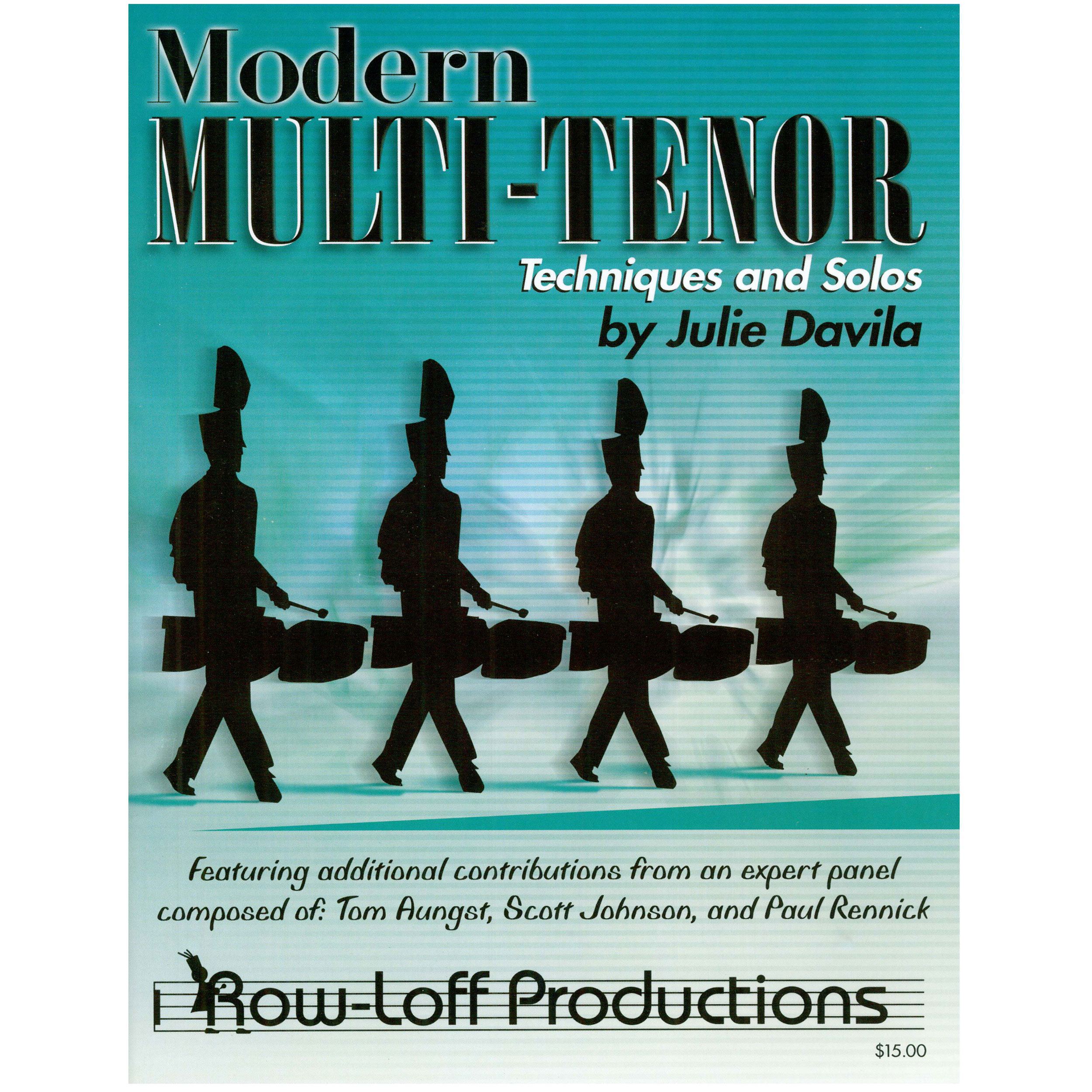 Modern Multi Tenor Techniques and Solos by Julie Davila