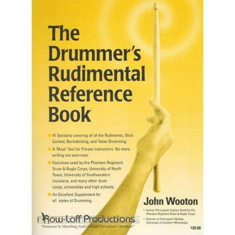 The Drummer's Rudimental Reference Book by John Wooton